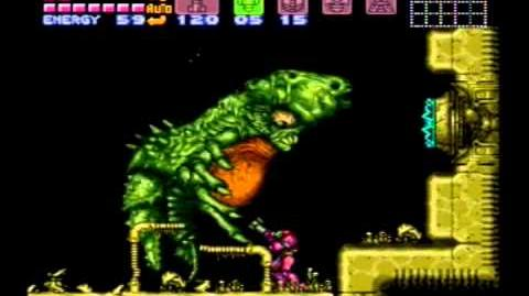 Super Metroid - Draygon