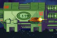 B.S.L and Gunship Side View MF