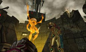 Prime Trilogy Promotional I-Sha Luminoth Hologram Agon Wastes Energy Controller