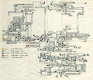 Super Metroid development map