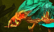 Samus Returns Omega Metroid closeup
