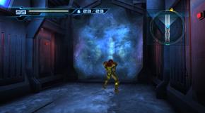Speed Booster corridor - ice wall