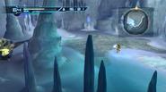 Ice bridge cavern - pond