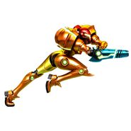 MSR Samus running charge artwork