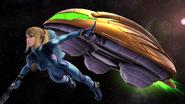 Challenge Image Gunship and Zero Suit Samus SSBWU