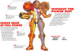 Samus Aran Varia suit Super Metroid Player's Guide 1994