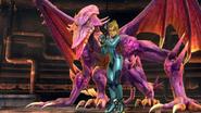 Ridley Samus Zero SSB WiiU