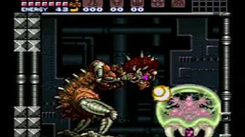 Super Metroid Mother Brain!