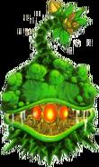 Arte oficial de la planta de esporas