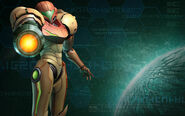 Samus Aran Render Corruption Phaaze