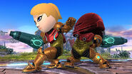 Mii Fighter Costume Samus SSB4
