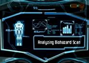 Bioescáner analizando