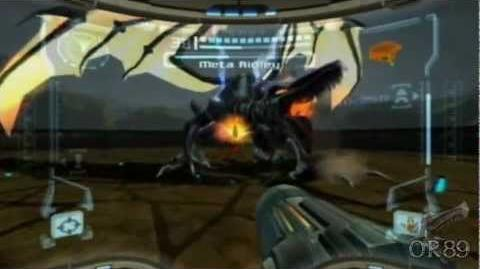 Metroid Prime (Wii) - Meta Ridley Boss Fight (Hypermode)