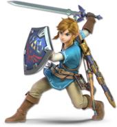 SSB Ultimate Link render