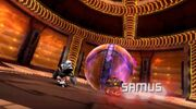 Samus Aran batalla captura mpff