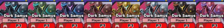 Dark Samus alternate costumes