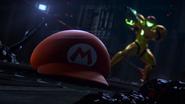 A Piercing Screech Mario's hat alone