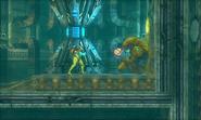 Metroid Samus Returns Chozo Statue Varia Suit (Power Suit Upgrade)