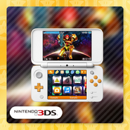 Metroid Samus Returns Nintendo 3DS theme