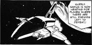 Nave de Samus Cosmo Liner manga de 1986