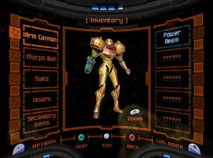 Mp samus screen