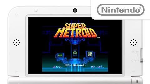 スーパーメトロイド プレイ映像 (New 3DS VC)