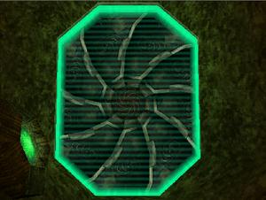 Alimbic stronghold door