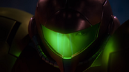 A Piercing Screech Samus examines surroundings