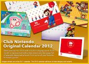 Club Nintendo Original Calendar 2012 2