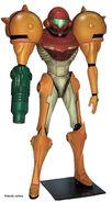 Metroid Prime lifesize statue (Studio Oxmox)