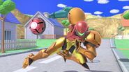 SSB Ultimate Samus run away