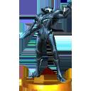 Trofeo Samus Oscura SSB 3DS