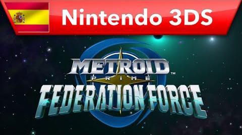 Metroid Prime Federation Force - Tráiler de la historia (Nintendo 3DS)