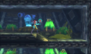 Metroid Samus Returns Area 7 Metroid Laboratory - Baby & Samus (Chozo Laboratory)