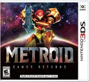 Metroid Samus Returns Boxart