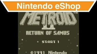 Nintendo eShop - Metroid 2 Return of Samus Trailer