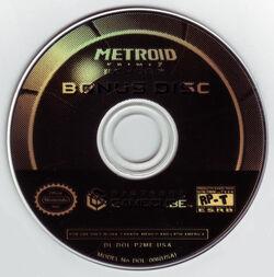 Metroid Prime 2 Bonus Disc
