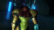 BRC main laboratory - survivor walks in