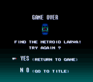 Game Over Screen SM