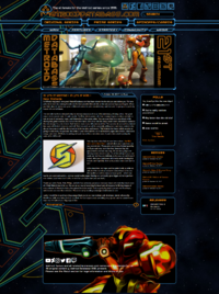 Metroid Database relaunched site
