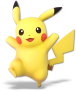 SSB Ultimate Pikachu render