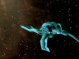 Неизвестный космический корабль