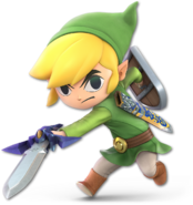 SSB Ultimate Toon Link render