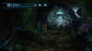 Underground cavern Griptian web