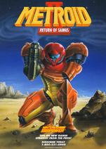 Metroid II Return of Samus poster 01