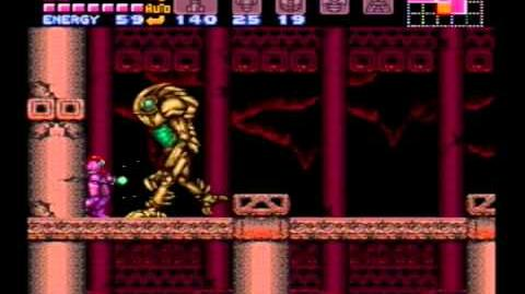 Super Metroid - Golden Torizo
