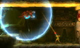 Gamma Metroid Releasing Electricity Pulse MSR