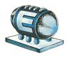 Pegatina Tanque de Energía ssbb
