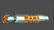 Rayo de Plasma modelo temprano MP