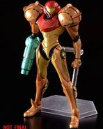 Samus Corruption Figma painted